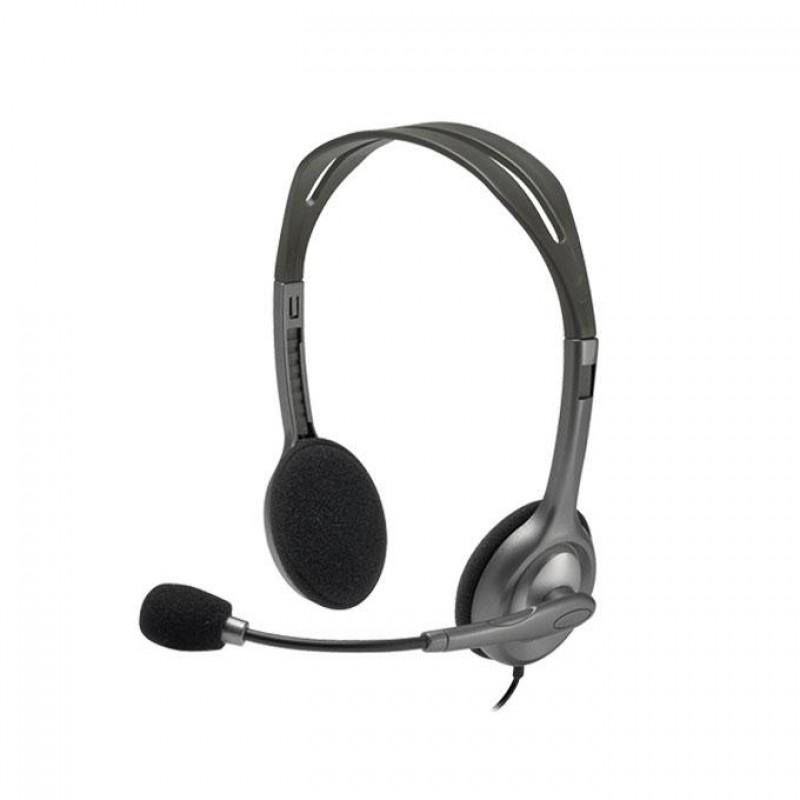 H110 Stereo Headset - Black